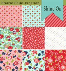 Shine On 9 Fat Quarters