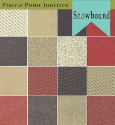 Snowbound 16 Fat Quarters