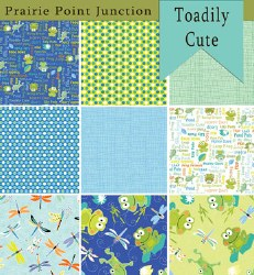 Toadily Cute 9 Fat Quarters