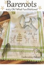 Oh What Fun Dishtowel Kit