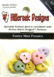 Easter Mini Pennies Buttons