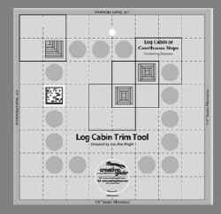 Ruler Log Cabin Trim Tool