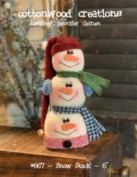 Snow Stack Pattern