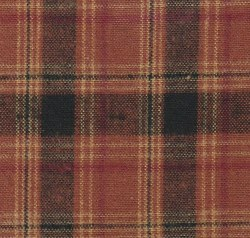 Hickory Ridge Plaid Orange Blk
