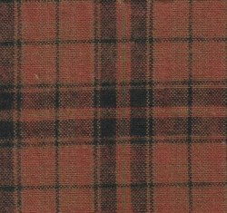 Hickory Ridge Plaid LgOrangeBk