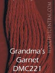 Floss Grandma's Garnet