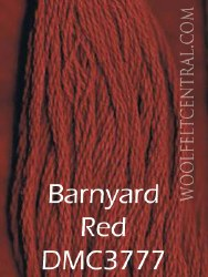 Floss Barnyard Red