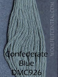 Floss Confederate Blue