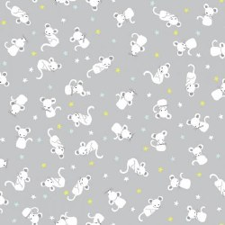 Wide Awake Flannel Mouse Lunar