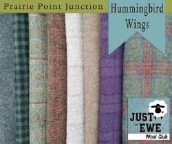 Wool Bundle Hummingbird Wings