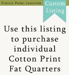 Fat Quarter Prints