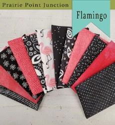 Flamingo 12 Fat Quarters
