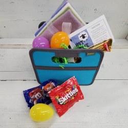Easter Basket w Wool Bundle
