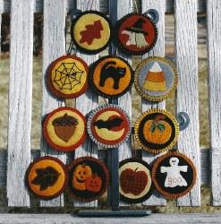 Fall Ornaments-Garden Moon