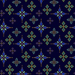 Silent Night Foulard Stars Mid
