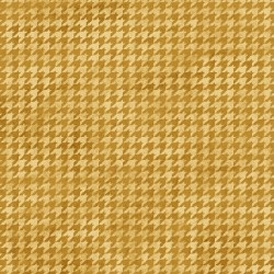 Houndstooth Basic Gold