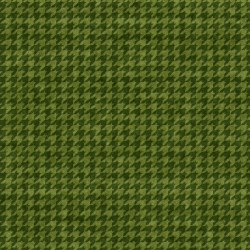 Houndstooth Basic Green