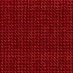 Houndstooth Basic Red