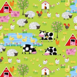Best Friends Scenic Farm Green