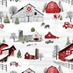 Holiday Heartland Scenic Grey