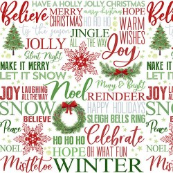 Holiday Heartland Words Multi