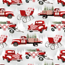 Holiday Heartland Trucks Red