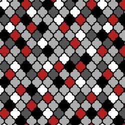 Moroccan Red Lantern Tiles