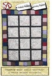 Raggedy Gals Quilt Pattern
