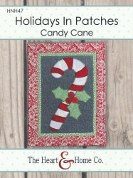 Holidays in Patches Candy Cane