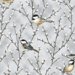 First Snowfall Bird/Willow Gry