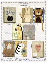 Zoo Cloth Book Pattern