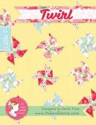 Twirl Little Quilt Pattern