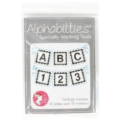 Alphabitties Marking Tool Grey