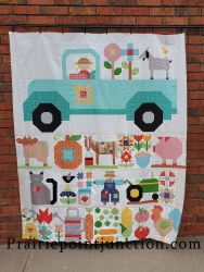 Farm Girl Vintage 2 Truck Fabric Pack