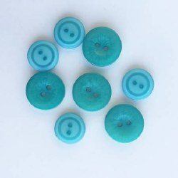 Snack Pack Buttons Teal for Two