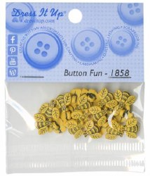 Buttons Tiny Bees