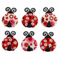 Ladybug Love Buttons