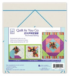 Quilt As You Go Square in Squa