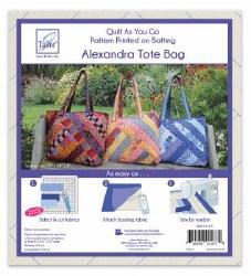 Quilt As You Go Alexandra Tote
