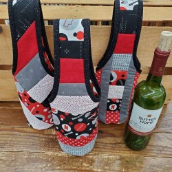 Quilt As You Go Wine Tote Kit