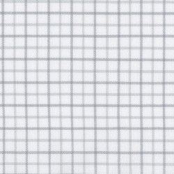 Brooklyn Flannel Sm Grid Silve