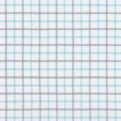 Brooklyn Flannel Sm Grid Blue