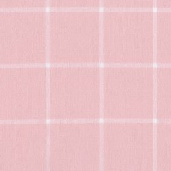 Brooklyn Flannel Lrg Grid Pink