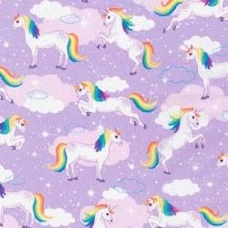 Enchanted Unicorns Lavender