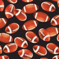 Sports Life Footballs Black