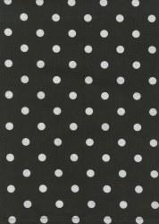 Towel Dot Black White