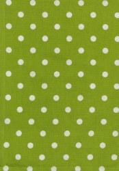 Towel Dot Lime White