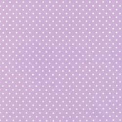 Cozy Cotton Lavender Dot
