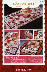 Be Mine Table Runner and Towel