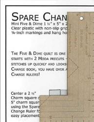 Spare Change Ruler